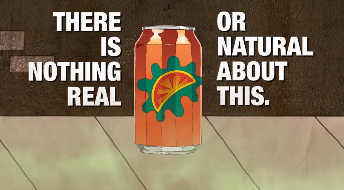 Crush Soda is Full of Chemicals